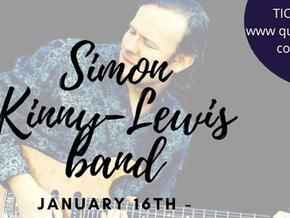 The Quarterdeck presents: Simon Kinny-Lewis January 16th 2021