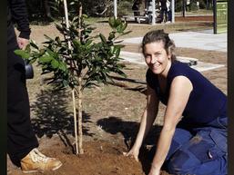 National Tree Planting Day at Long Beach