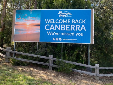 Welcome Back Canberra