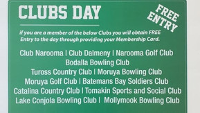 Moruya Races: Registered Club's Race Day Sunday August 15th