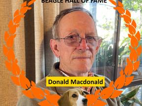 Beagle Hall of Fame: Welcome to Donald Macdonald