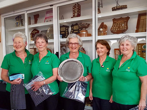 Tuross Head Country Club lady golfers win Coastal Challenge Championship