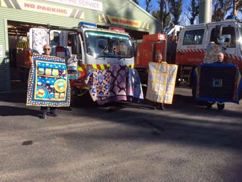Quilts from WA sent to Malua Bay with love