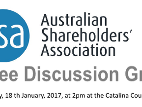 Australian Shareholders Assoc forms local coffee discussion group