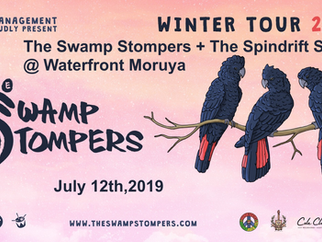 The Swamp Stompers at Moruya Waterfront Hotel, Friday 12th July