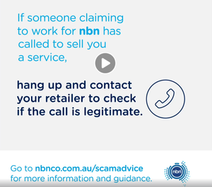 Protect yourself from nbn scams