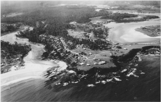 Mossy Point Aerial c1956. RF