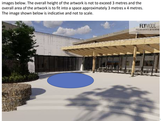 Batemans Bay regional aquatic, arts and leisure centre $200,000 public art commission