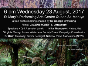 Moruya Forest Forum Aug 23rd