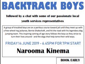 Kinema presents Backtrack Boys June 14th