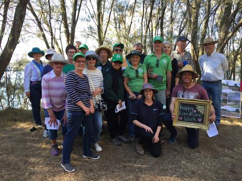 Celebrations put spring in Landcarers' step