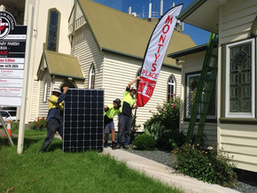 Monty's Place, Narooma Goes Solar