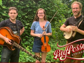 Big Possum Stringband @ The Quarterdeck Narooma on Aug 10th