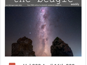Beagle Weekender of April 16th 2021 OUT NOW