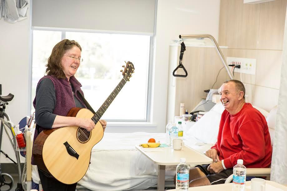 Kerrie Davies & Ross Beattie Forbes Hospital ....Photo Kim Storey