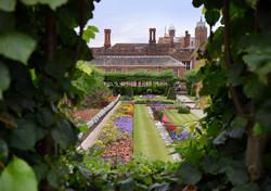 Hampton Court Palace England by Yvonne M