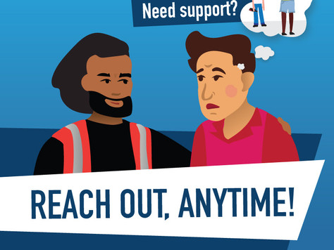 Locals urged to reach out… anytime!
