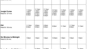 Perry Street Cinemas program Jul 29th to Aug 4th