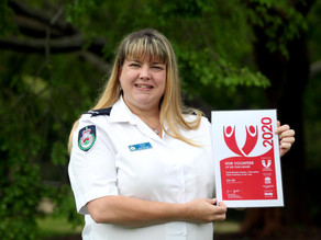 Joint winners of Volunteer Team of the Year – WIRES Mid-South Coast Branch