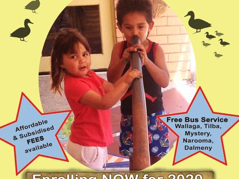 Little Yuin Aboriginal Preschool enrolments for 2020