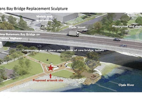 Old Clyde Bridge steel to be used in foreshore sculpture