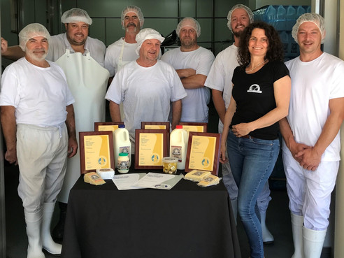 Tilba Real Dairy bring home the GOLD
