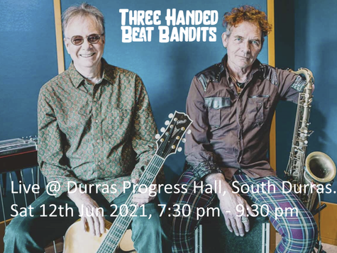 The Three-Handed Beat Bandits at Sth Durras June 12th