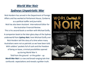 Literary Lunch: Nick Hordern June 18th