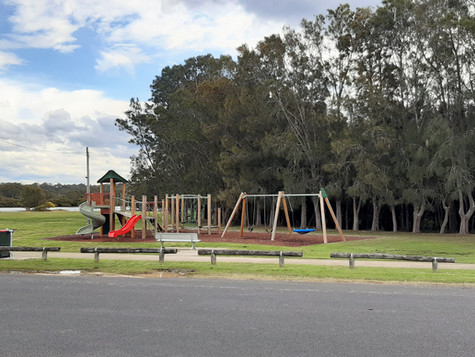Playground upgrades for Tomakin, South Durras