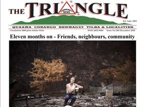 December 2020 edition of The Triangle OUT NOW