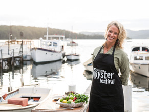 Hatted Chefs Matched With Local Producers At The Narooma Oyster Festival Cooking Demonstrations