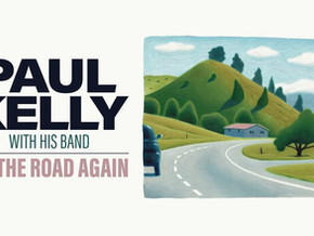 Paul Kelly plays Club Sapphire Aug 4th