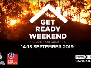 Get Ready Weekend 14-15 September 2019