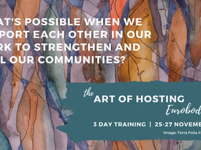 Art of Hosting training Eurobodalla