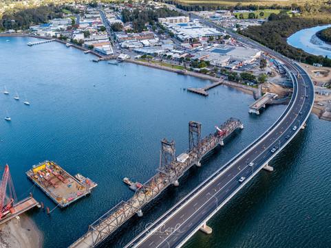 Latest Batemans Bay bridge photos by South Coast Pix