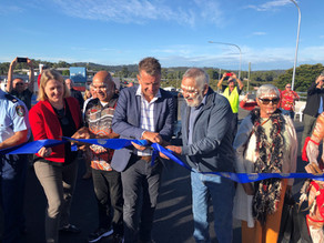 The new Batemans Bay Bridge has now been officially opened