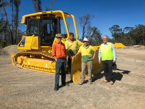 New dozer to help protect south coast from bushfire