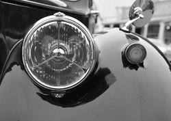 Gold - Car Lights by Garry Kemp