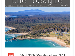 Beagle Weekender of September 24th 2021 OUT NOW