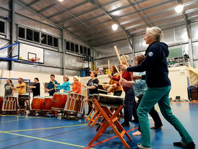 Beginners Taiko Drumming in Cobargo