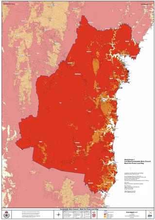 New bush fire prone land mapped: 639 properties identified