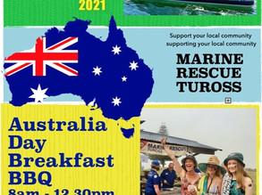 Australia Day at One Tree, Tuross Head