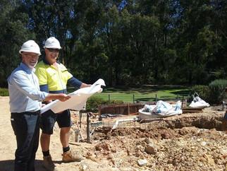 Botanic Garden redevelopment begins