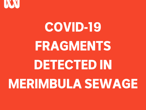 Second time that Covid Fragments detected at Merimbula