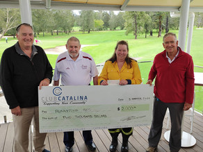 Club Catalina VETS fundraiser for Runnyford RFS