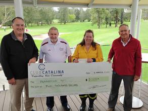 Club Catalina VETS fundraiser for Runnyford RFS