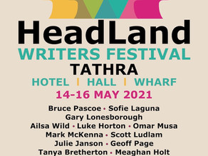 Headland Writers Festival, 14-16 May 2021