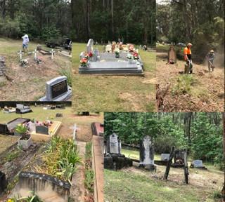 Nelligen Cemetery cleanup