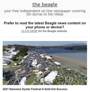 Your midweek Beagle local news mailout is OUT NOW
