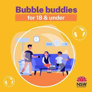 Friends bubble created for children to allow home visits in time for school holidays